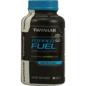Twinlab 1060300 Ripped Fuel Extended Release Fat Burning Formula - 60 Tablets