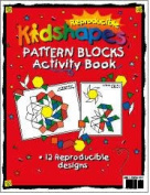 Barker Creek LM-B231 Learning Magnets - KidUSA Kidshapes Pattern Blocks Activity Book