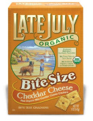 Late July 37888 Organic Bite Size Cheddar Cheese