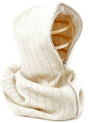 Nirvanna Designs HD01 Hood with Zipper and Fleece Lining - White