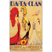 "Trademark Fine Art 60cm x 80cm ""Bataclan"" by Jose de Zamora"