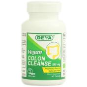 Deva Vegan Vitamins 1020361 Colon Cleanse - 595 mg - 90 Tablets