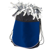 Pizzazz Performance Wear ST10 -NAV -L ST10 StringPack / Pom Bag - Navy - Large