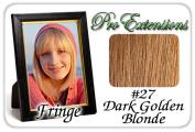 Brybelly Holdings PRFR-27 No. 27 Dark Golden Blonde Pro Fringe Clip In Bangs