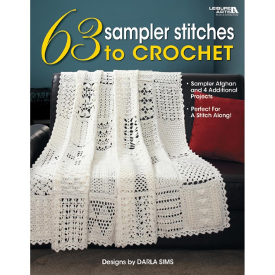 Leisure Arts 383961 Leisure Arts-63 Sampler Stitches To Crochet