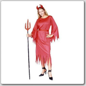 RG Costumes 18131 Devil Lady Costume - Size Adult