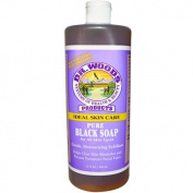 Dr. Woods 0771972 Pure Black Soap - 32 fl oz