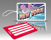 Insight Design 770730 TagCrazy Luggage Tags- New York- Set of Three