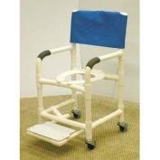 MJM International 118-3-FS-F Shower Chair