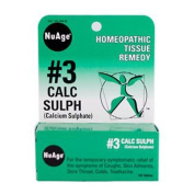 Nuage Labs 0346767 Hylands NuAge No.3 Calc Sulph - 125 Tablets