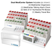MedCenter 70354 Deluxe Dual Two Month MedCenter System