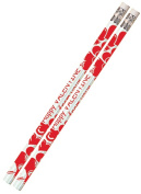 Musgrave Pencil Co Inc MUS1158D Happy Valentine From Your Teacher