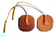 Pepin BWT11 Advantrode Skin Friendly Blue Gel Electrode - 4.4cm Square - 20 Packs Of 4
