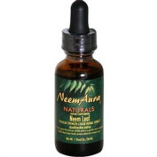 NeemAura Naturals Herbal Neem Leaf Extract Certified Organically Grown 1 fl. oz. 29068