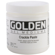 Golden 0003557-5 8oz. - 236ml - Crackle Paste
