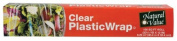 Natural Value 60067 Natural Value Clear Plastic Wrap- 7.32m x 30.48m