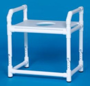 Innovative Products Unlimited TSF12 OS OVERSIZE TOILET SAFETY FRAME