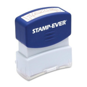 Stamp-Ever Pre-Inked Message Stamp, Faxed, Stamp Impression Size