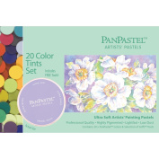 PanPastel Ultra Soft Artist Pastel Set 9ml 20/Pkg-Tints Set
