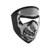 ZANheadgear Neoprene Glow in the Dark Skull Design Face Mask