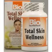 Bio Nutrition Inc 1086099 Total Skin Wellness - 60 Tablets