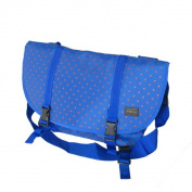Blancho Bedding MB-L8028-BLUE Lucky Star - Blue Multi-Purposes Messenger Bag / Shoulder Bag