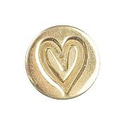 Manuscript Pen 270237 Decorative Seal Coin-Heart