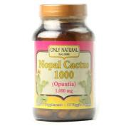 Only Natural 1175561 Nopal Cactus 1000 - 1000 mg - 90 Veggie Capsules