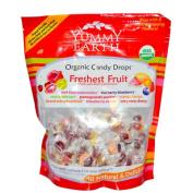 Yummy Earth 0757286 Organic Candy Drops Freshest Fruit 380ml - 369 g - Case of 12 - 380ml