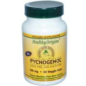 Healthy Origins 0725911 Pycnogenol - 100 mg - 60 Vegetarian Capsules
