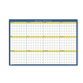 House of Doolittle 642 12-Month Laminated Wall Planner 36 x 24