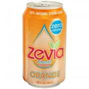 Zevia 35588 Natural Orange Diet Soda