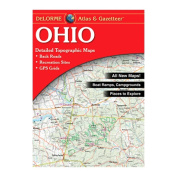 Delorme 240035 Ohio Atlas and Gazetteer