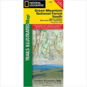 National Geographic Maps TI00000748 Green Mountains N.F. White Rocks NRA - Manchester Map
