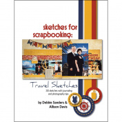 Scrapbook Generation SG-TV1 Scrapbook Generation - Sketches For Scrapbooking - Travel 1