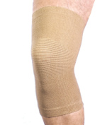 MAXAR Cotton/Elastic Knee Brace (Four-Way Stretch) - Small