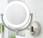 Floxite Rotating Fog-Free 3x Magnifying Mirror