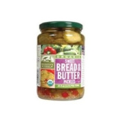 Woodstock Organic Sweet Bread and Butter Pickles -- 710ml
