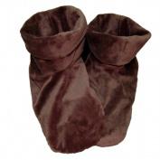 Herbal Concepts HCBOOTDC Herbal Comfort Booties - Dark Chocolate