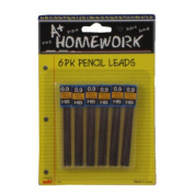 A plus Homework Mechanical Pencil Lead Refills - .9HB - 6PK- Case of 48