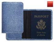 Raika RO 115 RED Passport Cover - Red