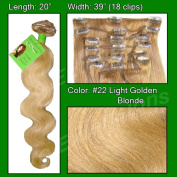 Brybelly Holdings PRBD-20-22 No. 22 Medium Blonde - 50cm Body Wave