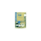 Maxant Button ADB1-36 Cover Button Kit-Size 36 7-20cm 3-Pkg