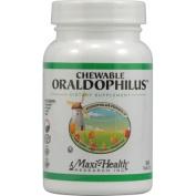 Maxi Health Kosher Vitamins 0813188 Chewable Oraldophilus Probiotic Formula - 100 Tablets