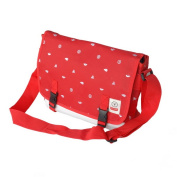 Blancho Bedding MB-SM946-RED Business Casual - Red Multi-Purposes Messenger Bag / Shoulder Bag