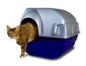 Omega Paw Products COM25742 Roll Away Self-Cleaning Litter Box