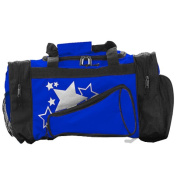 Pizzazz Performance Wear B100 -ROY -L B100 Megaphone Duffle Bag - Royal - Large
