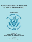 Preliminary Inventory of the Records of the Post Office Department