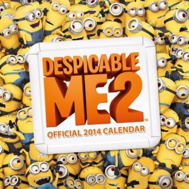 Official Despicable Me 2014 Calendar