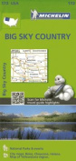 Michelin Big Sky Country Map